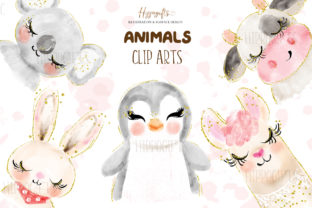 Watercolor Animals Illustration Graphic Illustrations By Hippogifts