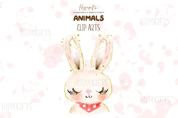 Watercolor Animals Illustration Graphic Illustrations By Hippogifts - Image 2