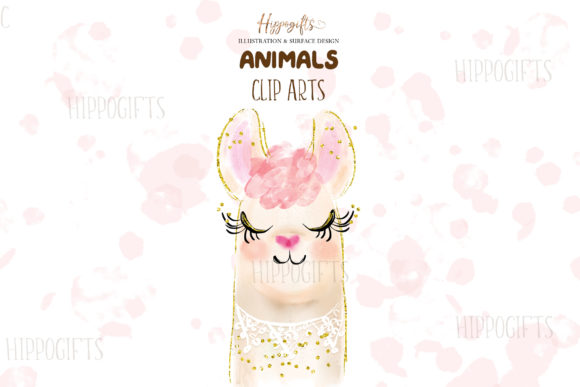 Watercolor Animals Illustration Graphic Illustrations By Hippogifts - Image 3