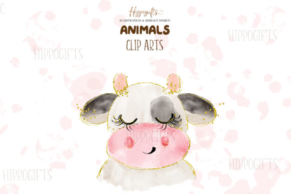 Watercolor Animals Illustration Graphic Illustrations By Hippogifts - Image 4