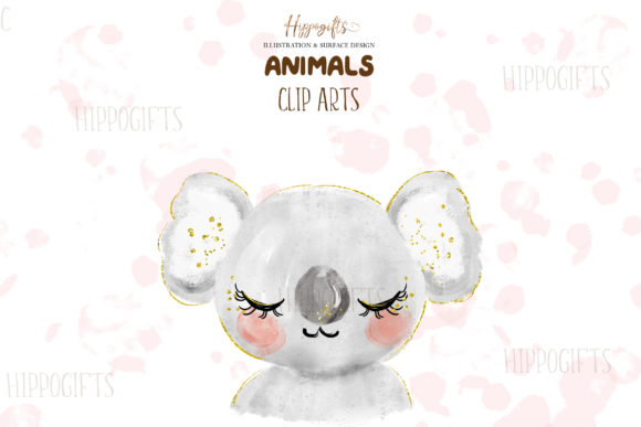 Watercolor Animals Illustration Graphic Illustrations By Hippogifts - Image 5
