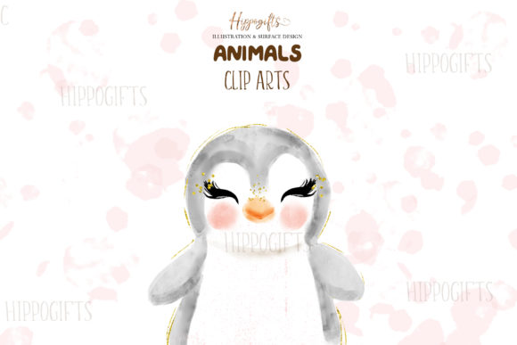 Watercolor Animals Illustration Graphic Illustrations By Hippogifts - Image 6