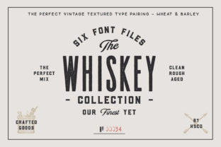 Print on Demand: Whiskey Sans Serif Schriftarten von Hustle Supply Co.