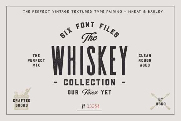 Print on Demand: Whiskey Sans Serif Fuente Por Hustle Supply Co.