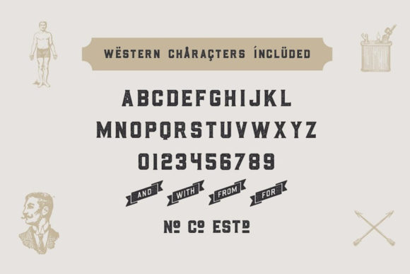 Print on Demand: Whiskey Sans Serif Font By Hustle Supply Co. - Image 3