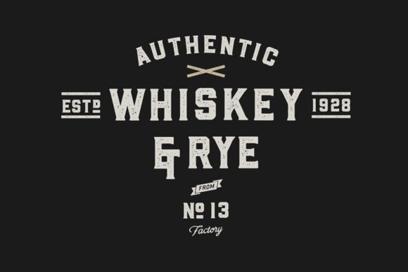 Print on Demand: Whiskey Sans Serif Font By Hustle Supply Co. - Image 6