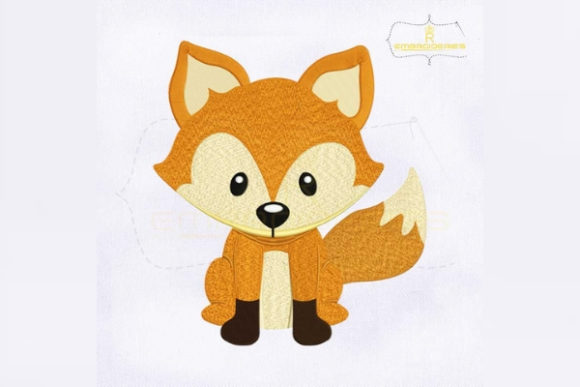 Woodland Animals Fox Woodland Animals Embroidery Design By RoyalEmbroideries