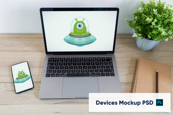 Download Free Macbook Pro And Iphone 2 Mockups Graphic By Marian Kadlec for Cricut Explore, Silhouette and other cutting machines.