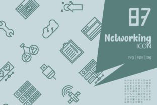 Networking Graphic Icons By astuti.julia93@gmail.com