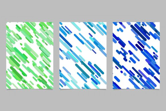 Download Free 3 Abstract Brochure Backgrounds Graphic By Davidzydd Creative for Cricut Explore, Silhouette and other cutting machines.