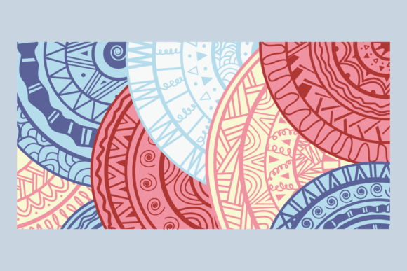 Download Free Abstract Pattern Vector Background Graphic By for Cricut Explore, Silhouette and other cutting machines.