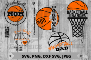 Download Free Basketball Bundle Graphic By Pit Graphics Creative Fabrica for Cricut Explore, Silhouette and other cutting machines.