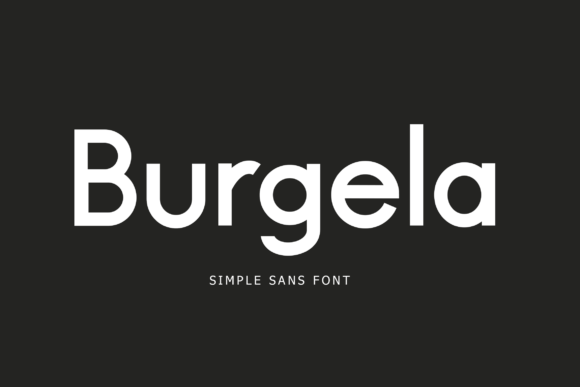 Download Free Burgela Font By Lyanatha Creative Fabrica for Cricut Explore, Silhouette and other cutting machines.