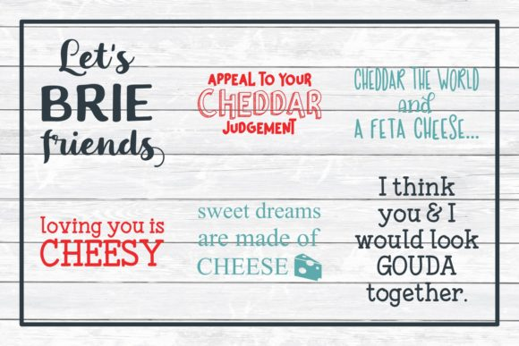 Download Free Cheese Pun Mega Bundle Graphic By Funkyfrogcreativedesigns for Cricut Explore, Silhouette and other cutting machines.