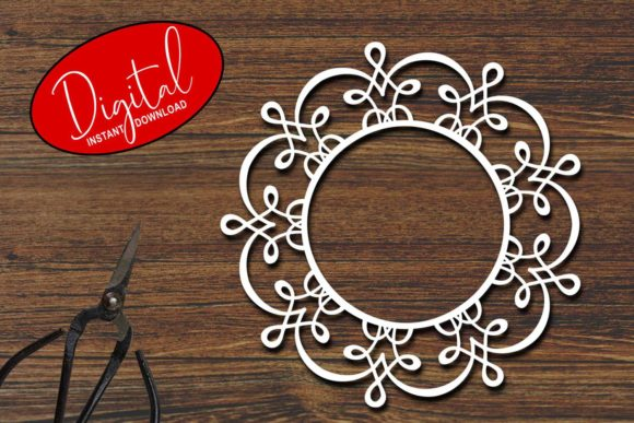 Download Free Circle Frame Bundle Graphic By Eva Barabasne Olasz Creative for Cricut Explore, Silhouette and other cutting machines.