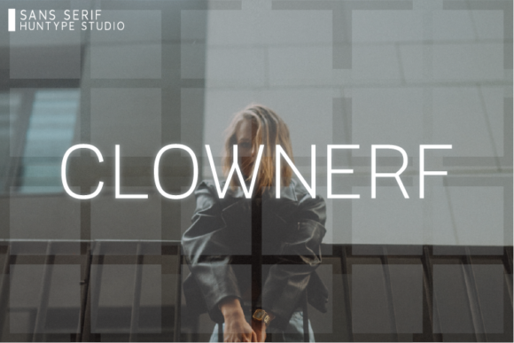 Print on Demand: Clownerf Sans Serif Font By Huntype
