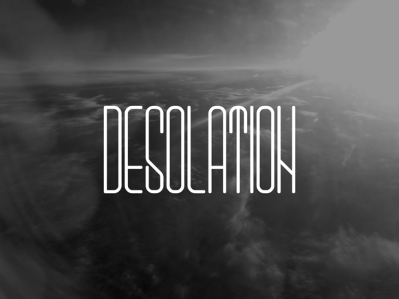 Print on Demand: Desolation Sans Serif Font By sabanovicid