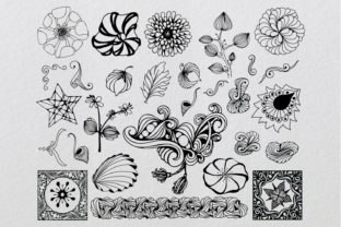 Download Free Doodle Elements Bundle Graphic By Eva Barabasne Olasz Creative for Cricut Explore, Silhouette and other cutting machines.