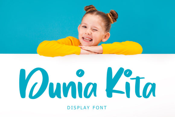 Download Free Dunia Kita Font By Formatikastd Creative Fabrica for Cricut Explore, Silhouette and other cutting machines.