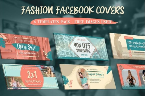 Download Free Fashion Facebook Covers Graphic By Ameyamathur Creative Fabrica for Cricut Explore, Silhouette and other cutting machines.