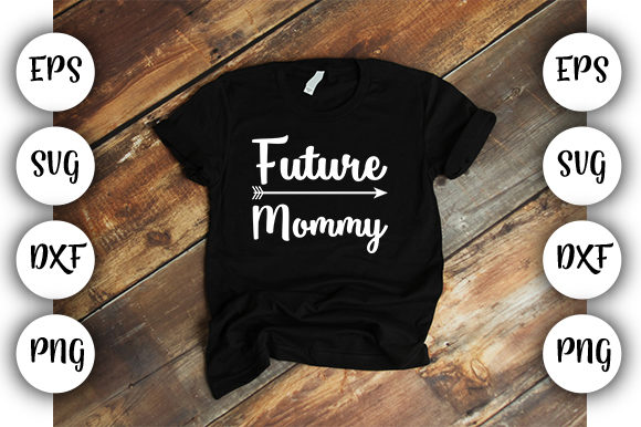 Print on Demand: Future Mommy 2020 Graphic Print Templates By Design_store