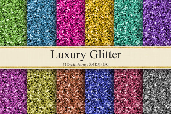 Download Free Glitter Background Digital Papers Graphic By Pinkpearly for Cricut Explore, Silhouette and other cutting machines.