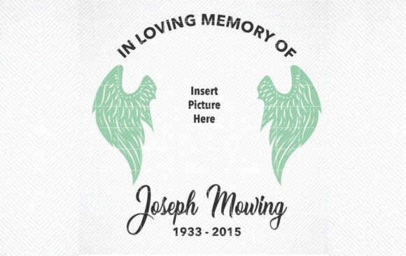 Print on Demand: In Loving Memory Graphic Graphic Crafts By SVG DEN