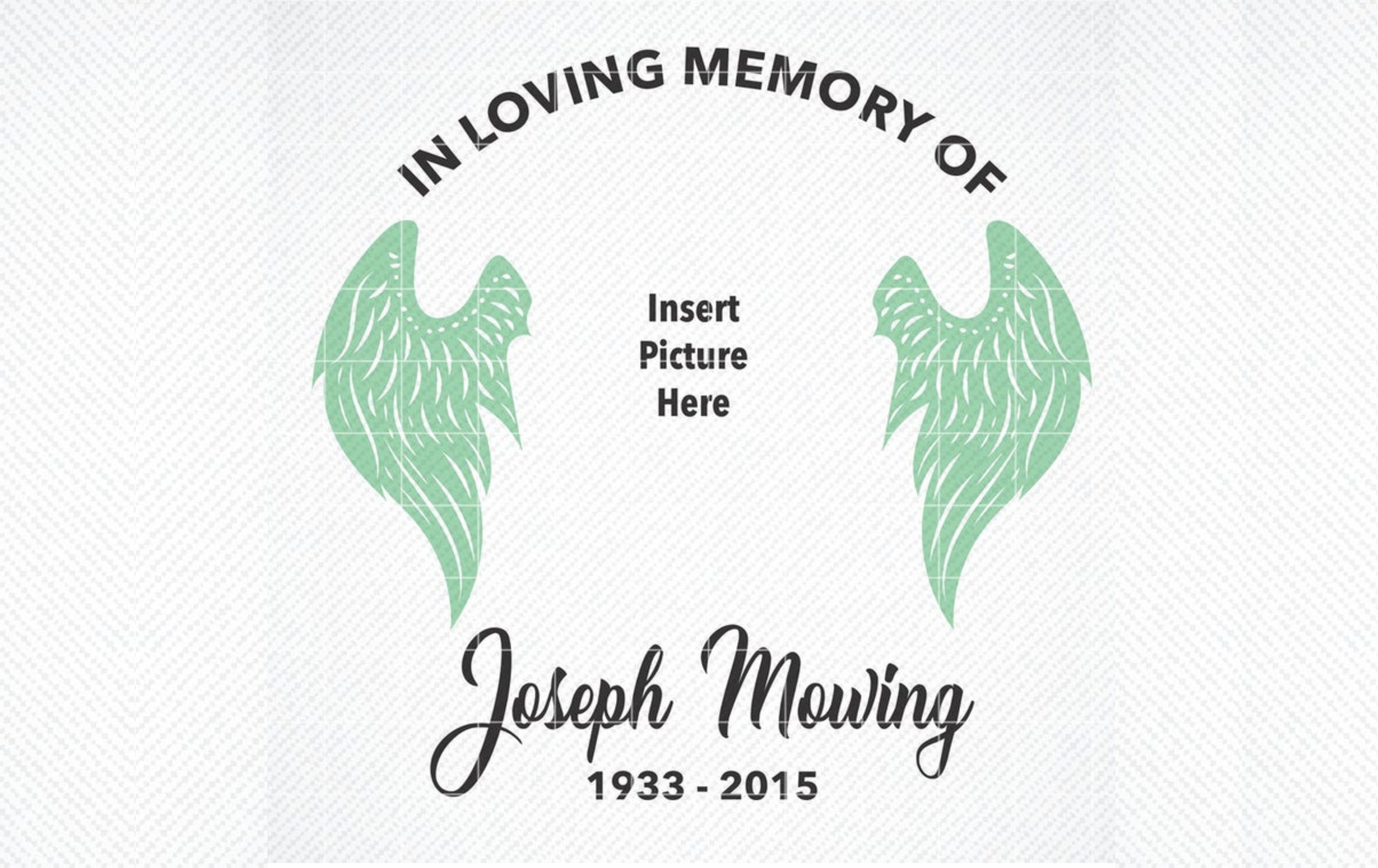 Download Free In Loving Memory Graphic Graphic By Svg Den Creative Fabrica SVG Cut Files