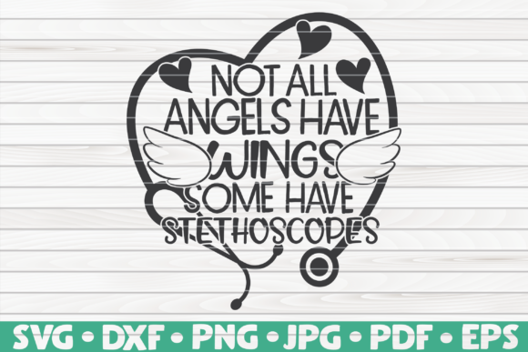 Download Free Not All Angels Have Wings Graphic By Mihaibadea95 Creative Fabrica for Cricut Explore, Silhouette and other cutting machines.