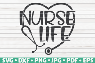 Download Free Nurse Life Graphic By Mihaibadea95 Creative Fabrica for Cricut Explore, Silhouette and other cutting machines.