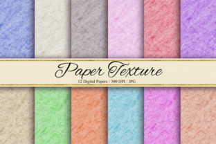 Print on Demand: Paper Texture Background Graphic Backgrounds By PinkPearly