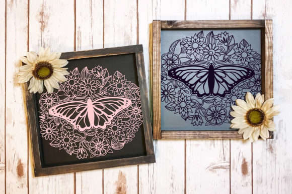 Print on Demand: Papercut Floral Bundle | 21 Cut File Graphic Crafts By tatiana.cociorva - Image 7