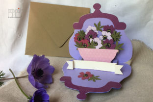 Pop Up Anemones Graphic 3D SVG By patrizia.moscone