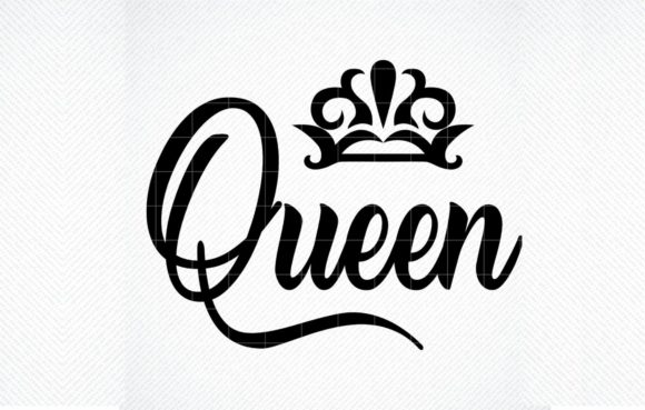 Queen File Queen Quote Cut File Graphic By Svg Den Creative