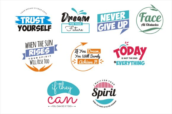 Quotes Bundle Graphic Illustrations By edywiyonopp
