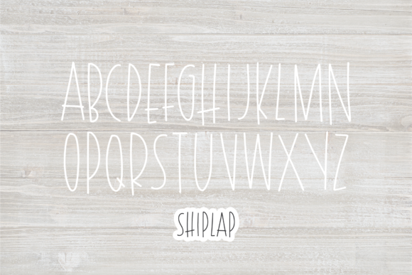 Print on Demand: Shiplap Sans Serif Font By dixietypeco - Image 2