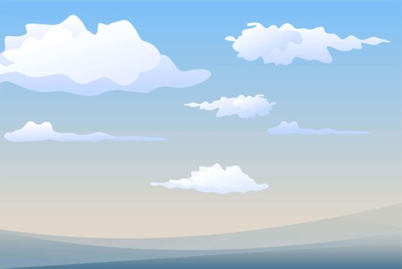 Sky Cloud Graphic Illustrations By edywiyonopp