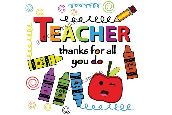 Download Free Teacher Appreciation Gift Graphic By Aarcee0027 Creative Fabrica for Cricut Explore, Silhouette and other cutting machines.