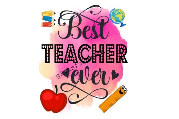 Download Free Teachers Appreciation Design Graphic By Aarcee0027 Creative for Cricut Explore, Silhouette and other cutting machines.