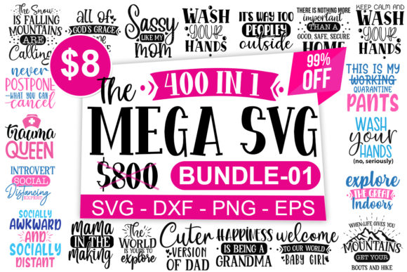 Print on Demand: The Mega Craft Bundle Vol-1  By Designdealy.com