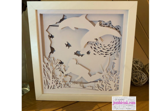 Under The Sea 3d Paper Cut Light Box Graphic By Jumbleink
