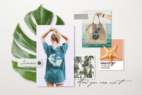 Print on Demand: Vacation Time. 50 Logos & Badges Graphic Logos By Cosmic Store - Image 11