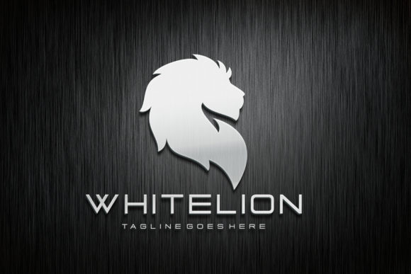 Download Free White Lion Graphic By Herulogo Creative Fabrica for Cricut Explore, Silhouette and other cutting machines.