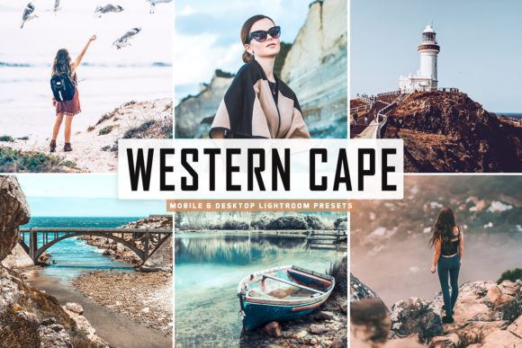 Print on Demand: Western Cape Lightroom Presets Pack Graphic Actions & Presets By Creative Tacos