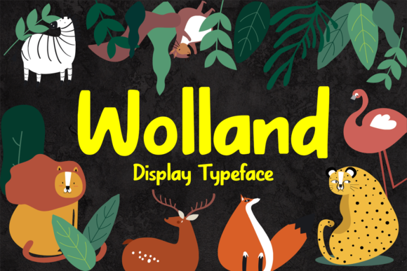 Print on Demand: Wolland Display Font By brithostype