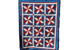 Yankee Doodle Stars Quilt Pattern Graphic Quilt Patterns By F. Calvert Creations