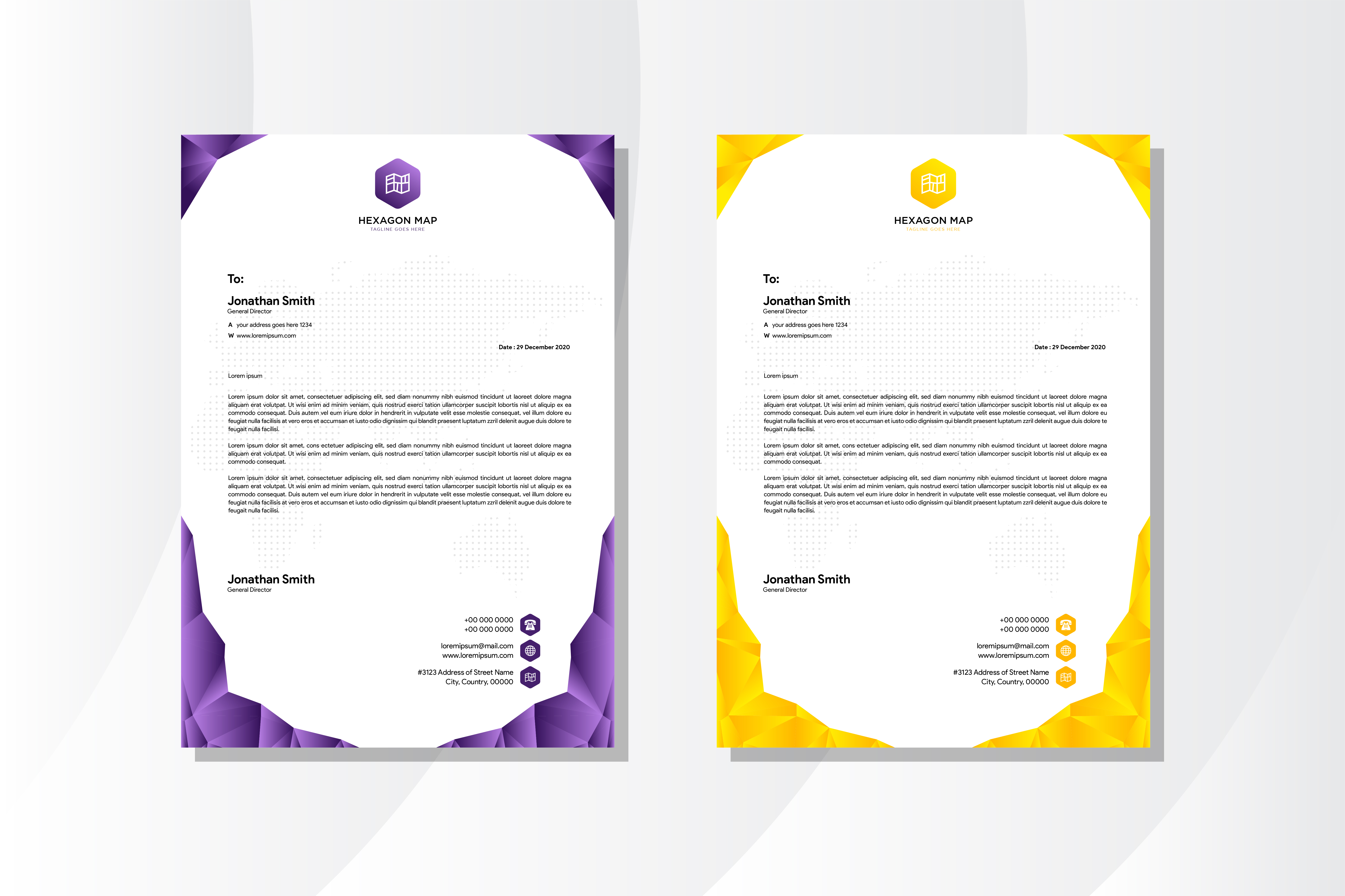 Download Free Document Polygonal Purple Yellow Graphic By Noory Shopper for Cricut Explore, Silhouette and other cutting machines.