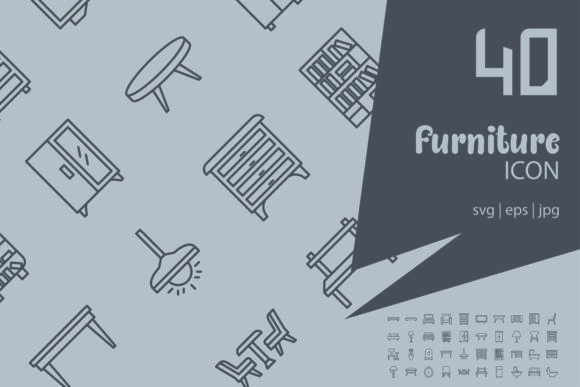 Furniture Graphic By Astuti Julia93 Gmail Com Creative Fabrica