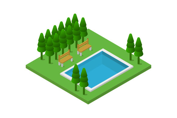 Download Free Isometric City Graphic By Marco Livolsi2014 Creative Fabrica SVG Cut Files
