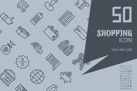Download Free Shopping Graphic By Astuti Julia92 Creative Fabrica for Cricut Explore, Silhouette and other cutting machines.